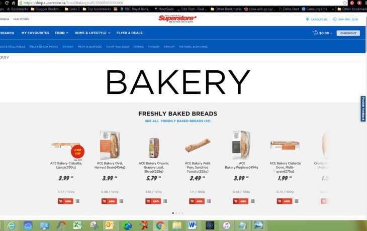click and collect bakery