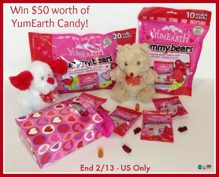 YumEarth Organics Candy giveaway button sk