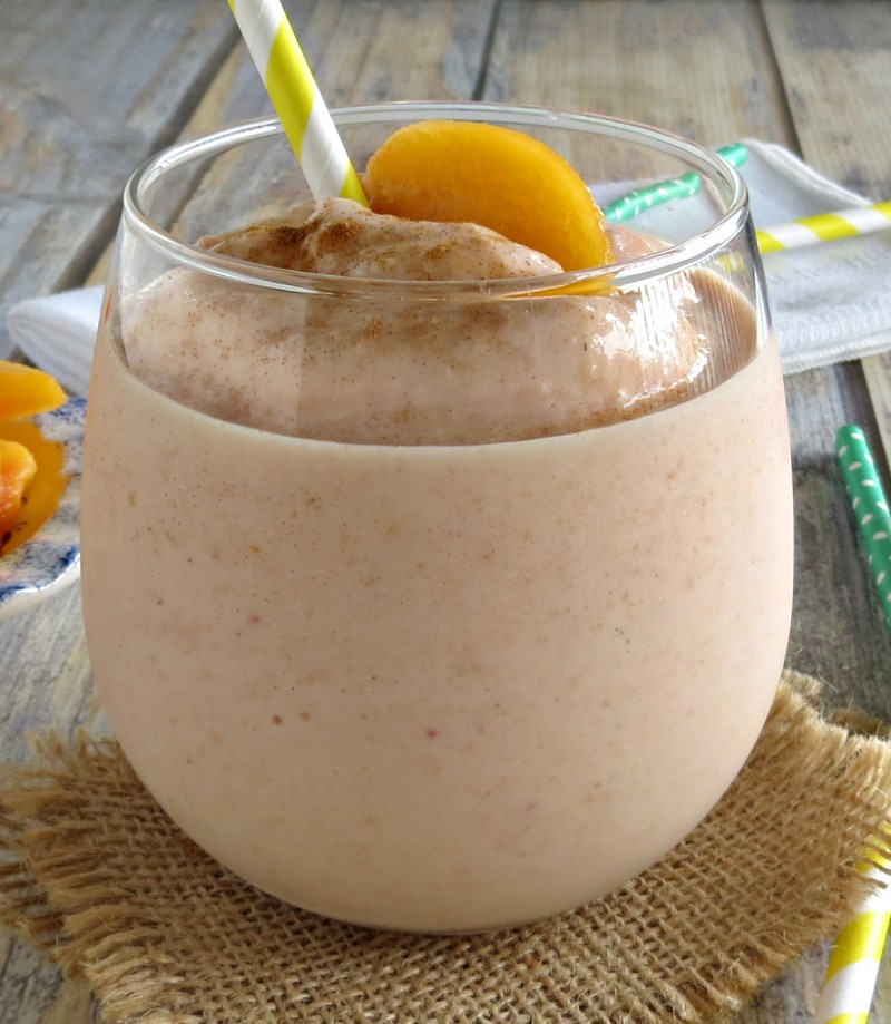 peaches and cream smoothie (3)