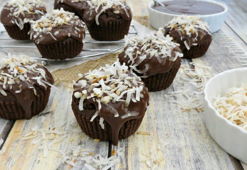 Chocolate Coconut Cupcakes (1)