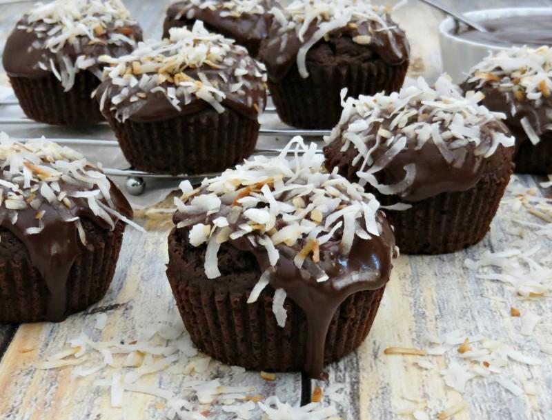 Chocolate Coconut Cupcakes (5)