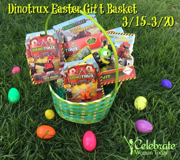 Dinotrux easter easter basket giveaway powered by mom dinotrux easter netflix gift basket negle Gallery