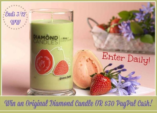 diamond candle