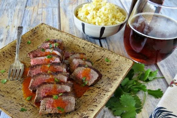 steak with sriracha cilantro butter (2)