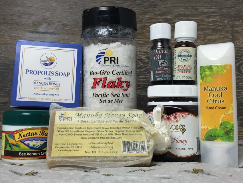 PRI Manuka Honey products