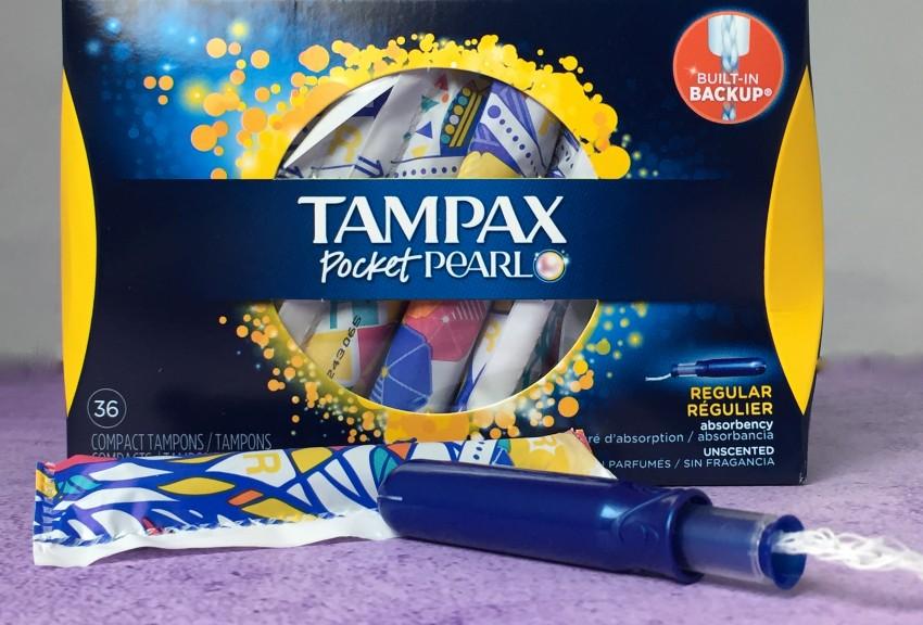 Tampax Pocket Pearl tampon