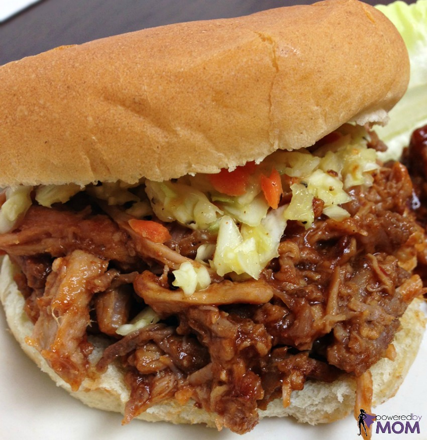 Tony Roma's Pulled Pork Sandwich