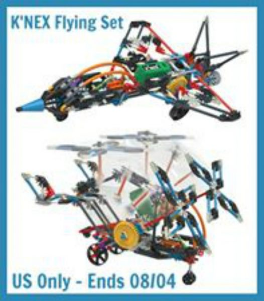 knex flying set