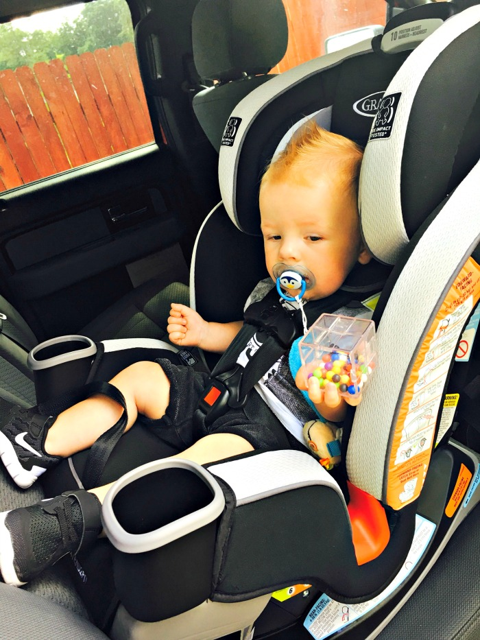 The Graco 3-in-1 Extend2Fit™ 3-in-1 Car Seat is the Bomb #Review