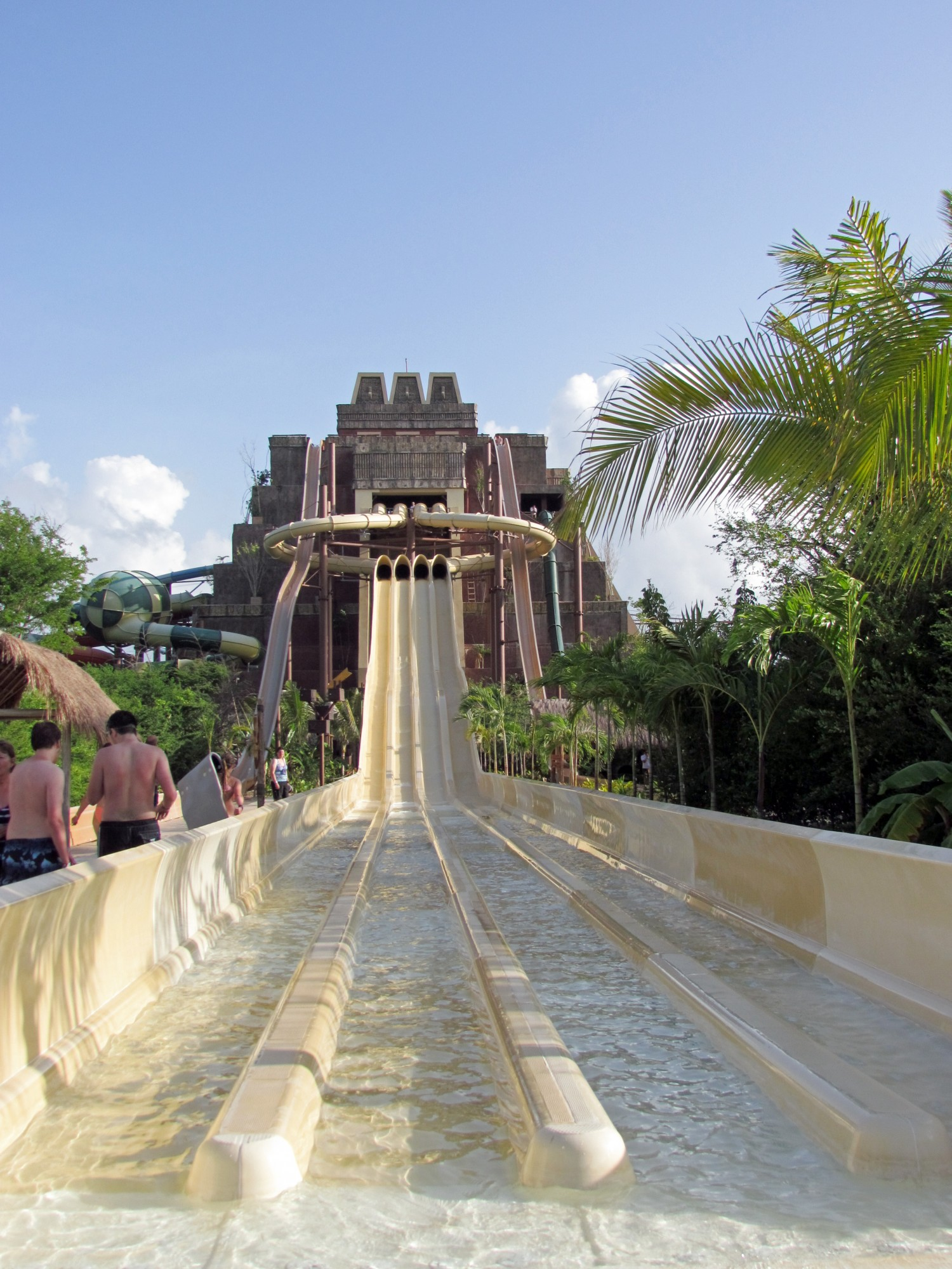 Costa Maya waterslide