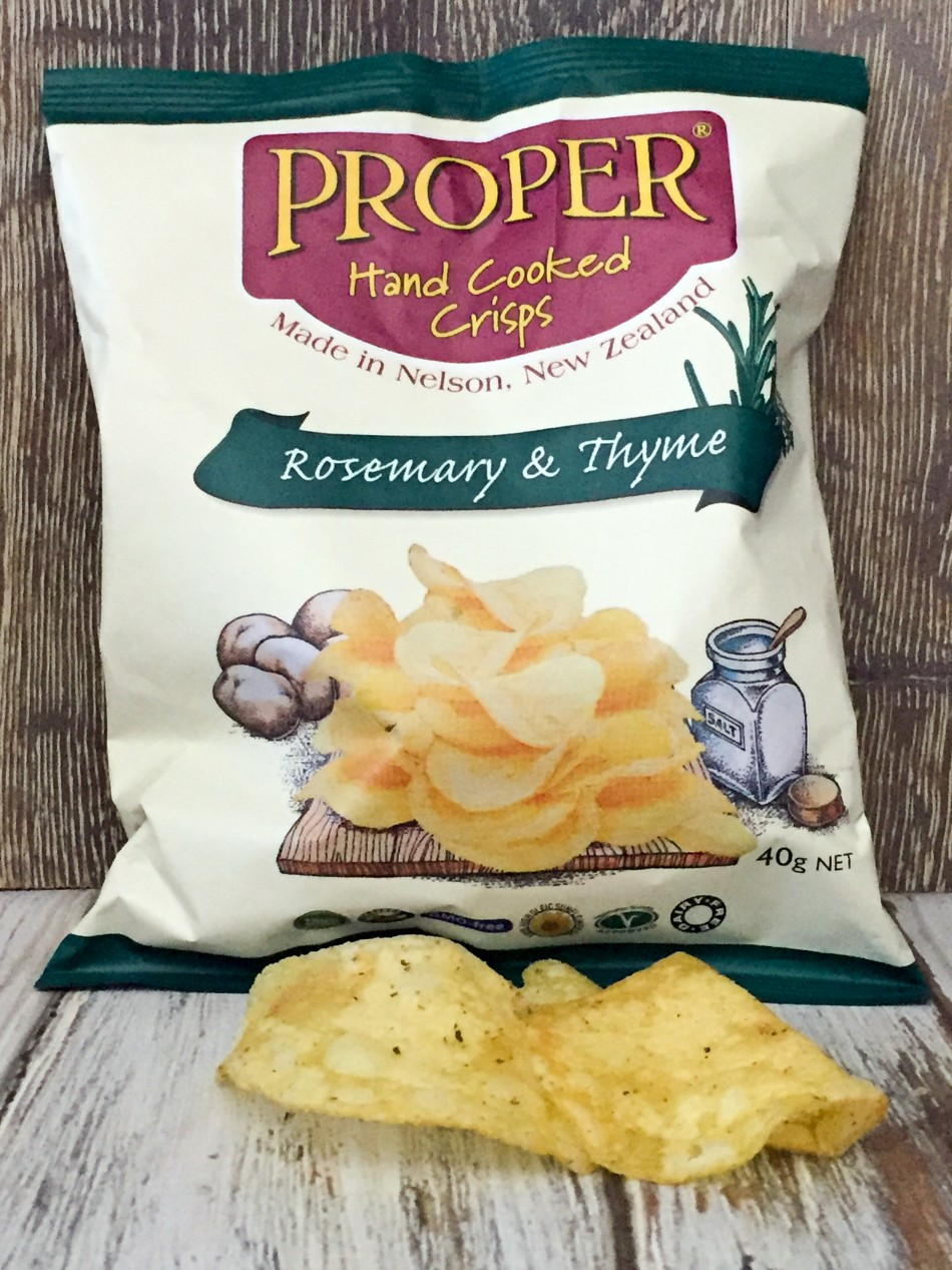 PRI rosemary thyme crisps