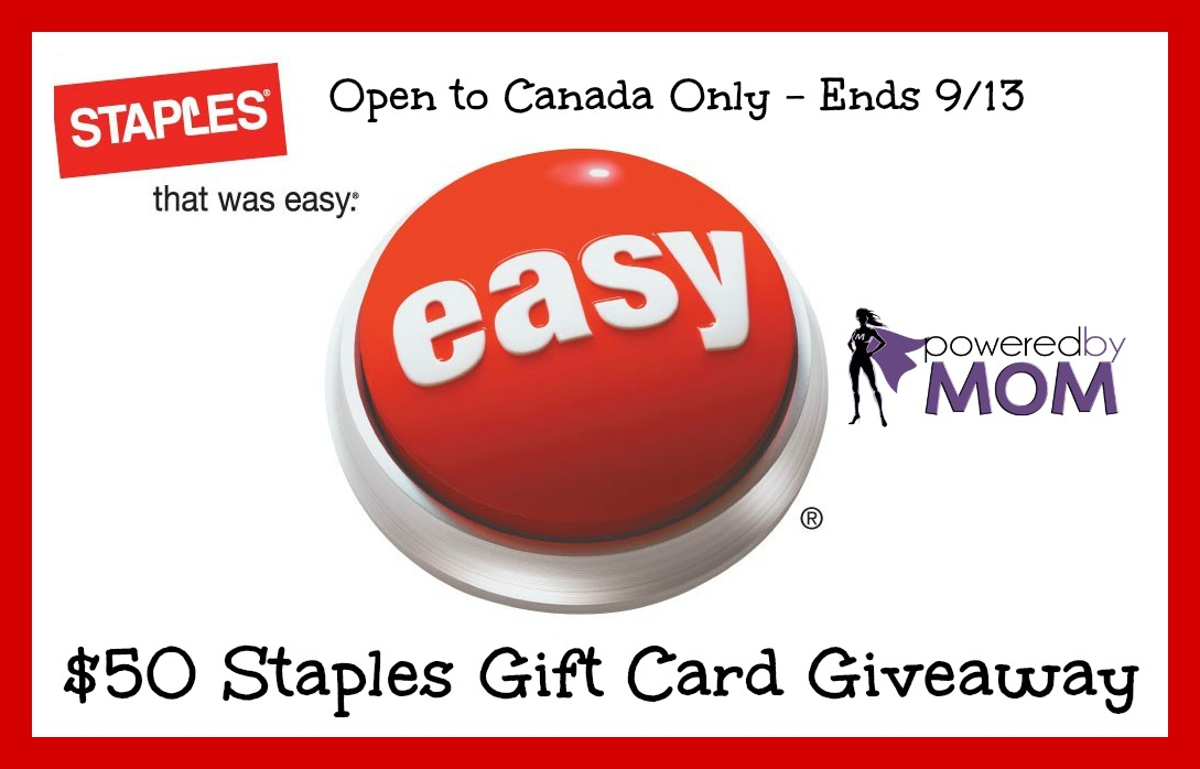 staples gift card button