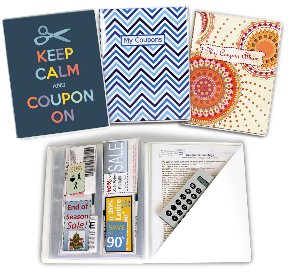Keep Calm and Coupon On with Ultra Pro Coupon Organizers