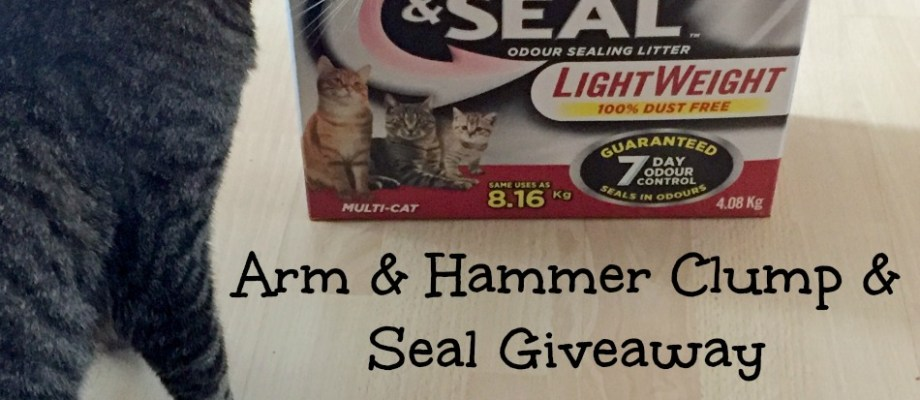 Arm & Hammer Cat Litter Giveaway