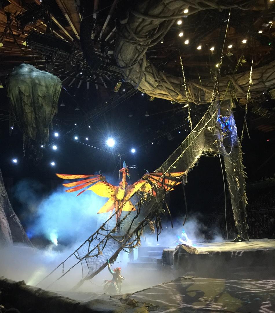 Cirque du Soleil Toruk First Flight