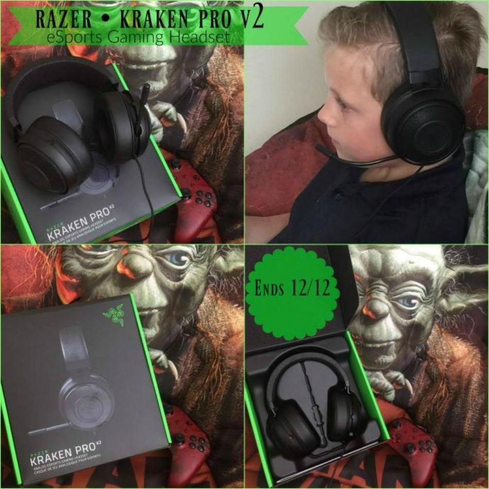 RAZER KRAKEN PRO eSports Gaming Headset Giveaway