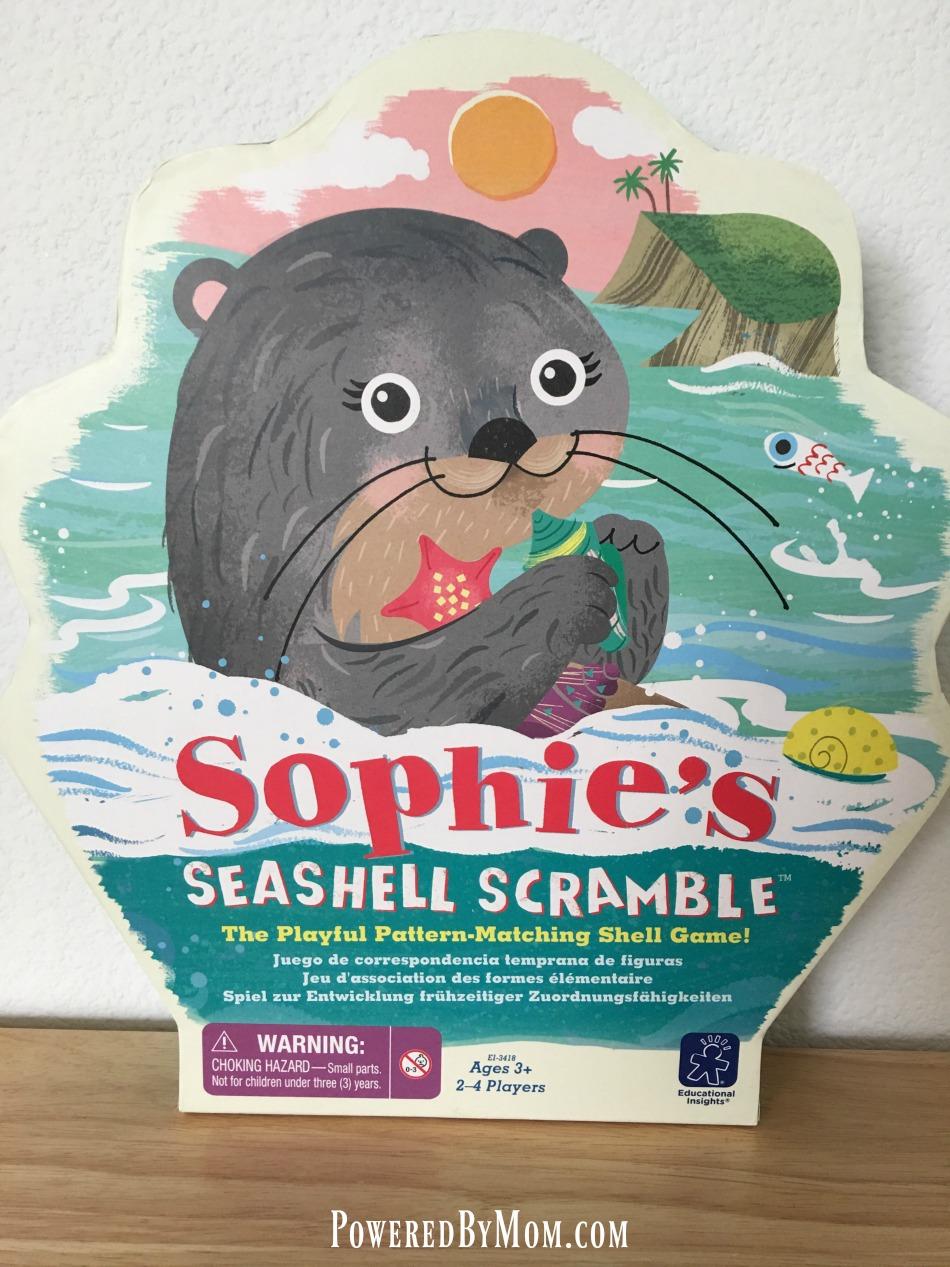Sophies Seashell Scramble - Powered By Mom