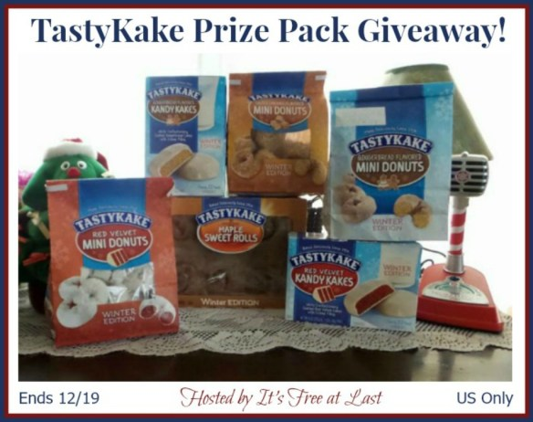TastyKake Prize Pack Giveaway