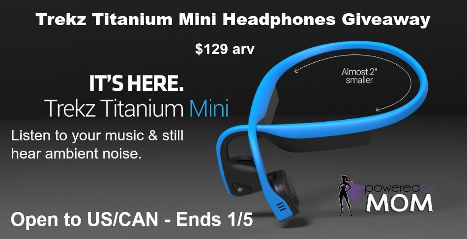 044ddc0b617 Trekz Titanium Mini Headphones Giveaway - Powered By Mom
