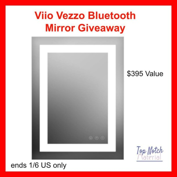 Viio Vezzo Bluetooth Mirror Giveaway!