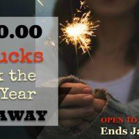$550 Cash Giveaway