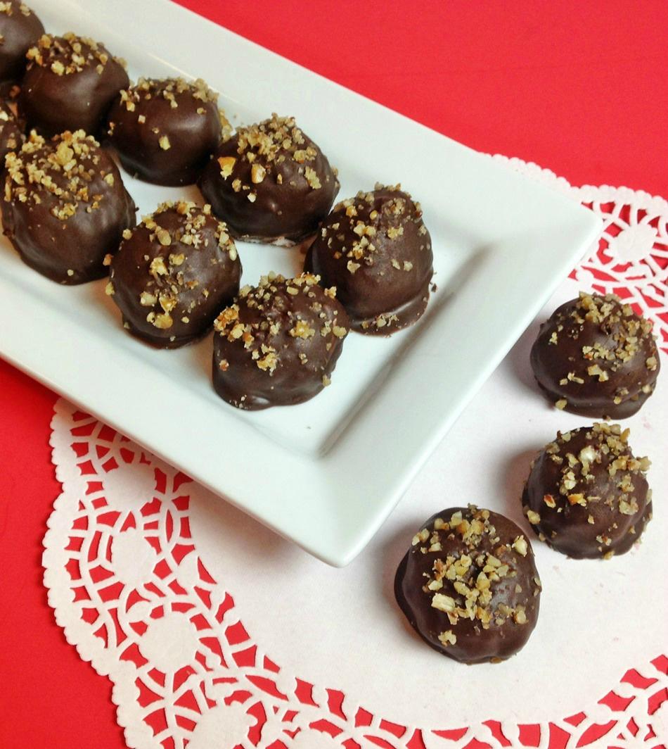 chocolate coconut bon bons