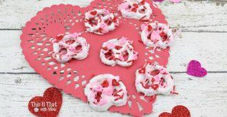 Valentine's Day Dipped Pretzels Recipe