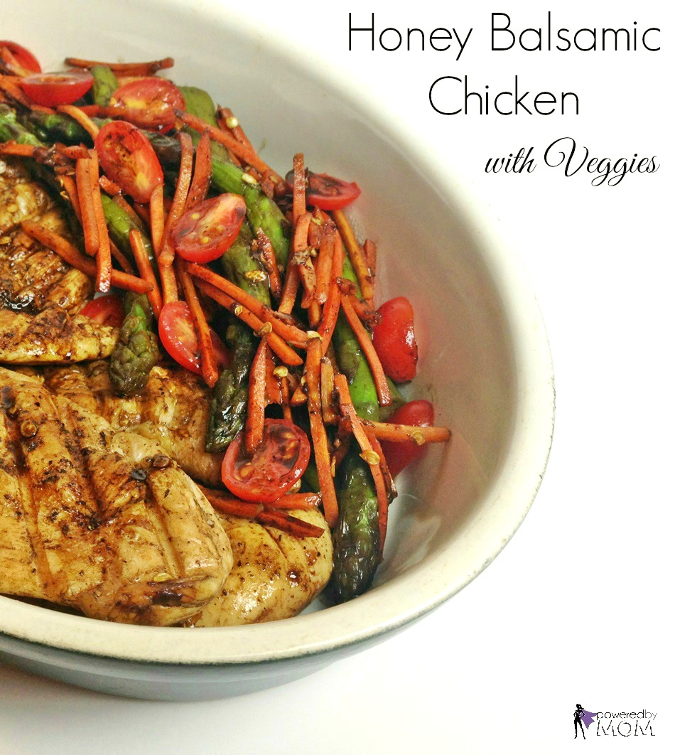 Honey Balsamic Chicken and Veggies banner 2
