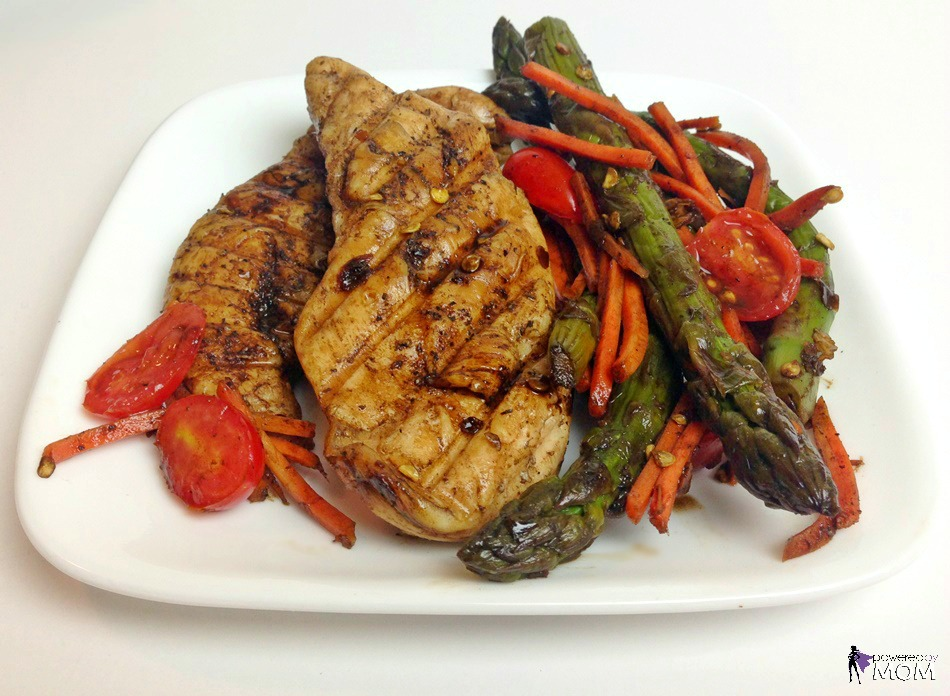 Honey Balsamic Chicken and Veggies horizontal 6
