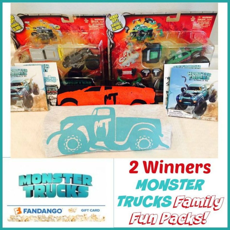 MONSTER TRUCKS Prize Pack Giveaway button