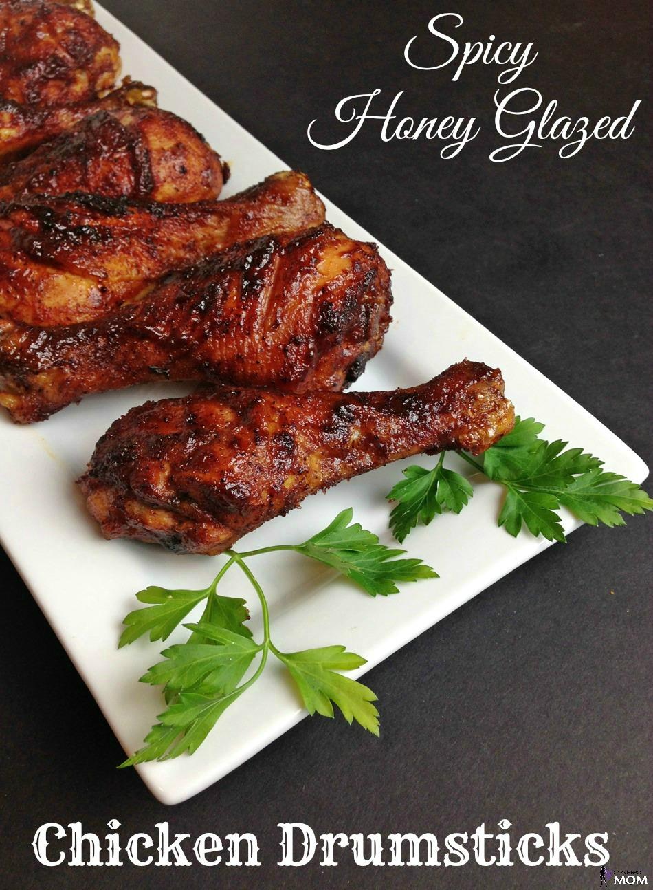 Spicy Honey Glazed Chicken Drumsticks banner 3