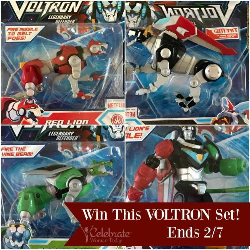 VOLTRON TOYS Giveaway