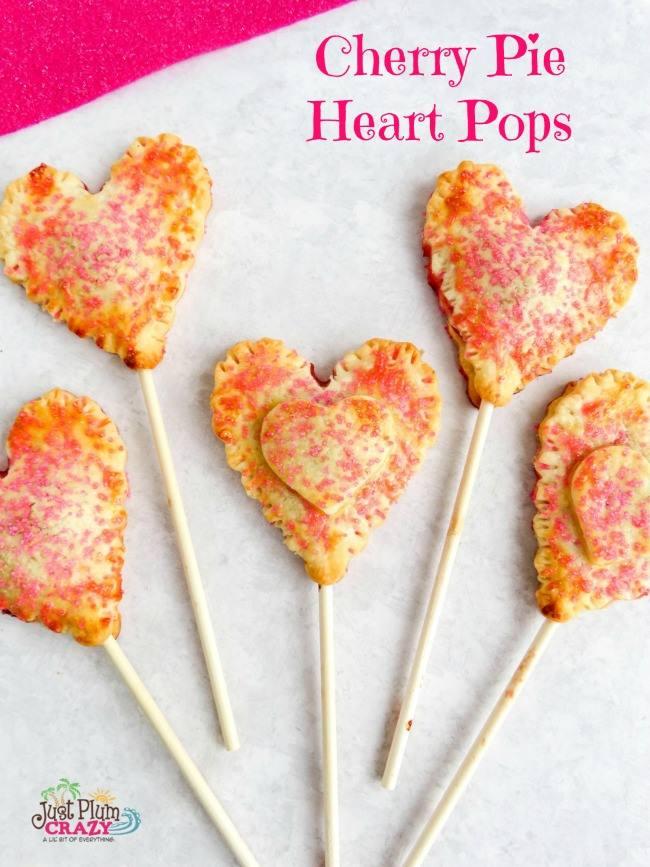 cherry pie heart pops 2