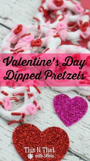 dipped pretzels