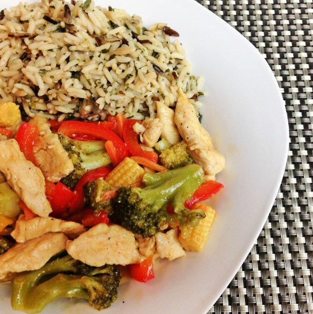 Honey Lemon Chicken Stir-Fry square 1
