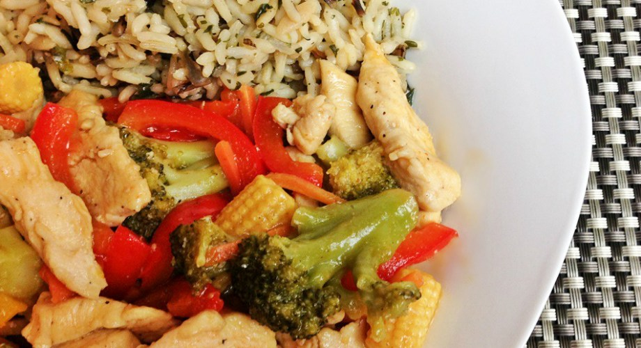 Honey Lemon Chicken Stir Fry Recipe