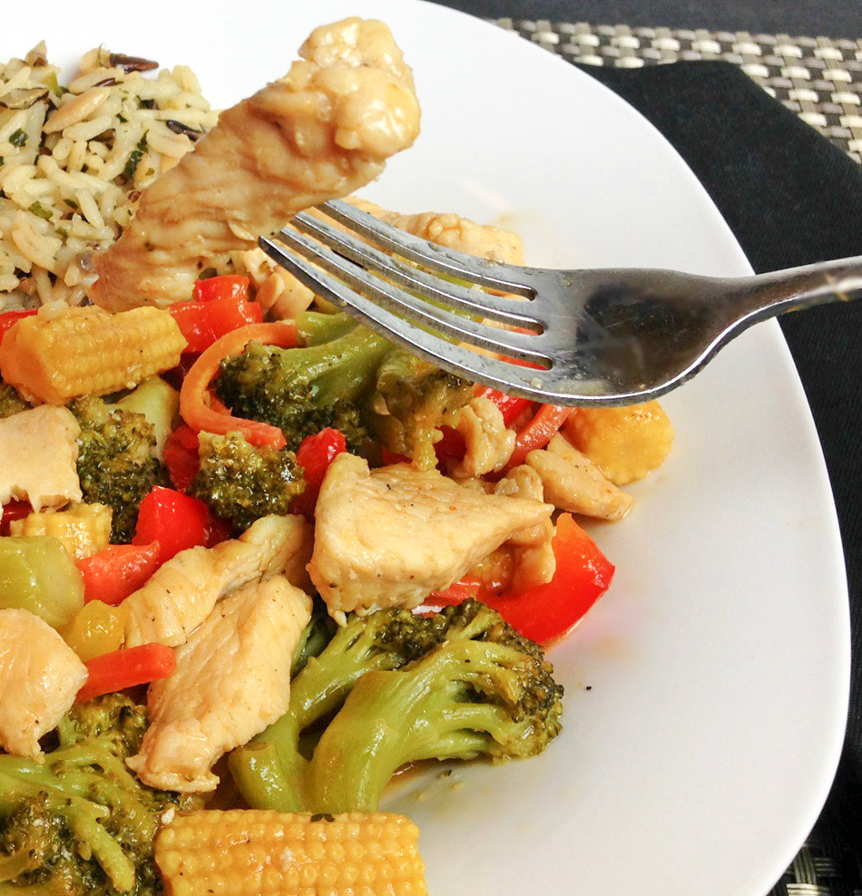 Honey Lemon Chicken Stir-Fry square 2