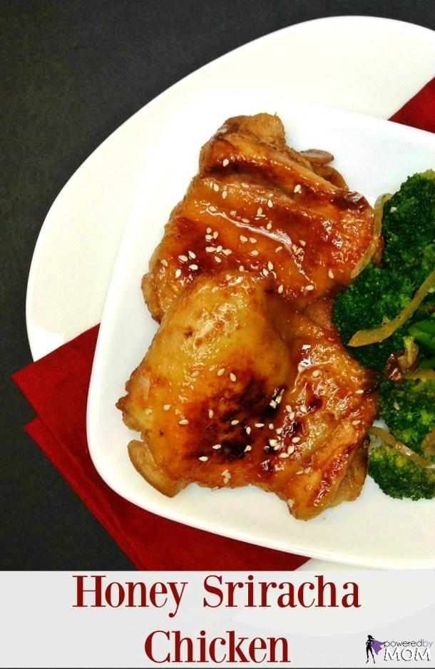 Honey Sriracha Chicken banner 2