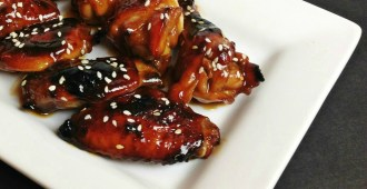 Baked Honey Teriyaki Chicken Wings #ChickenDotCa