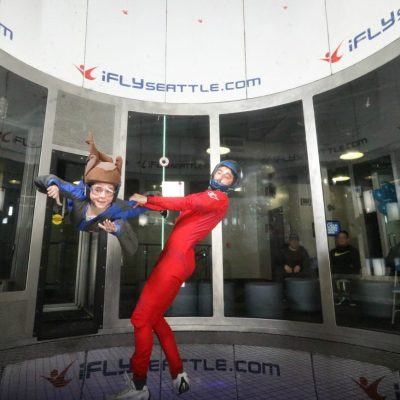 Family Indoor Skydiving with iFLY Seattle