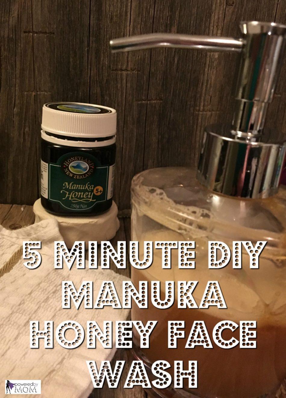 Manuka face wash