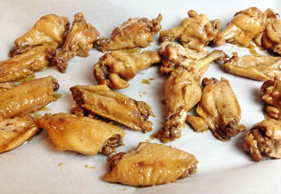 General TSO Chicken Wings process 4