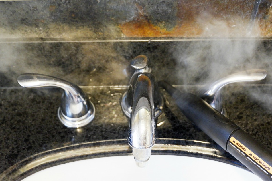 sink steam