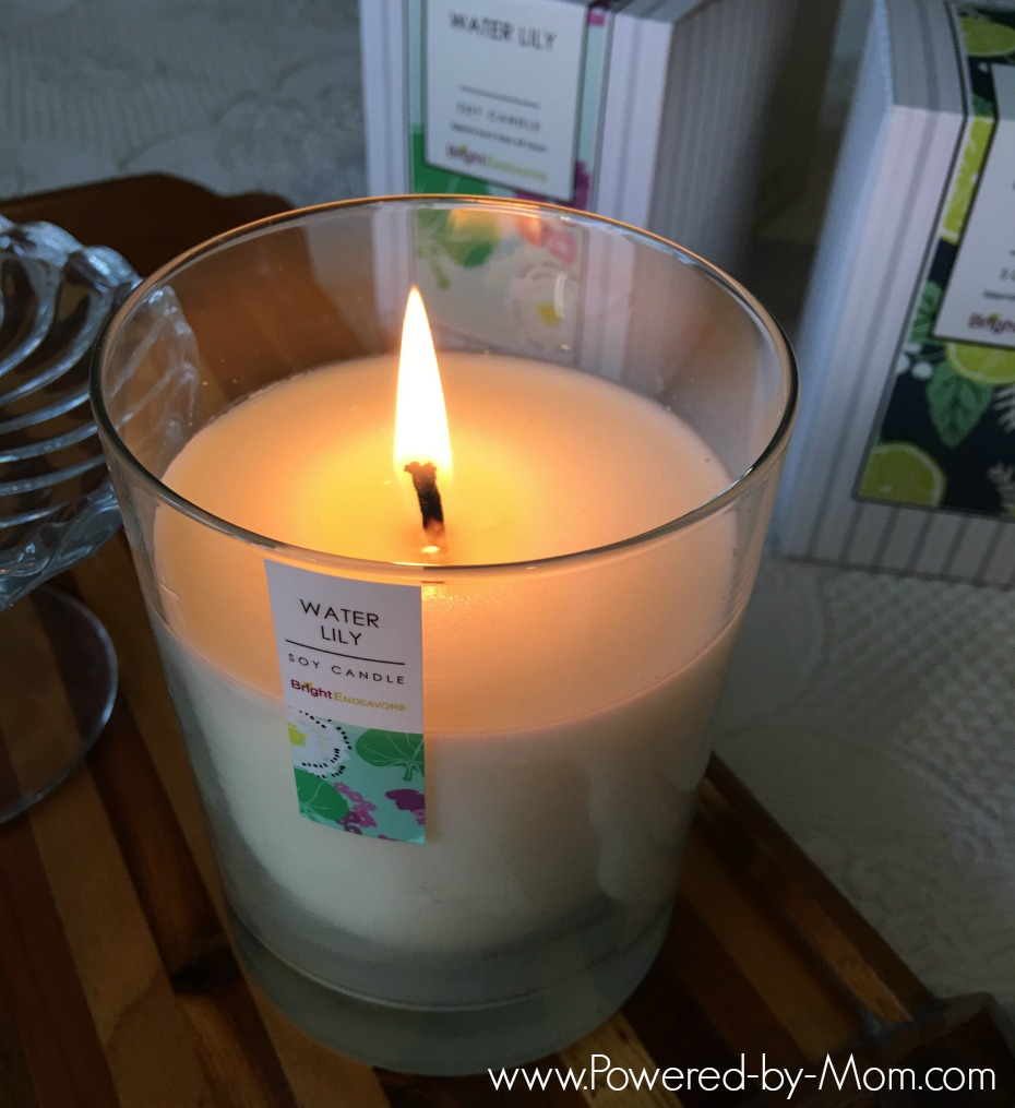 Bright Endeavors Soy Candle - Powered by Mom