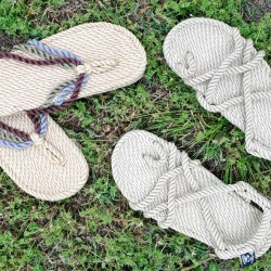Nomadic State of Mind Handmade Rope Sandals
