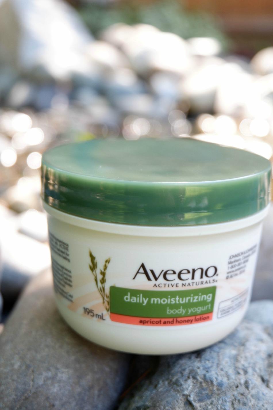 Women and Self Care AVEENO Body Yogurt