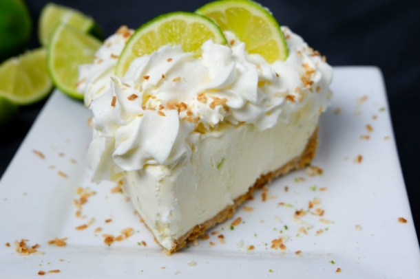 whipped no bake key lime pie