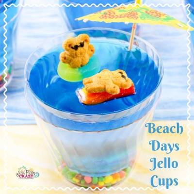Beach Days Jello Cups Recipe!