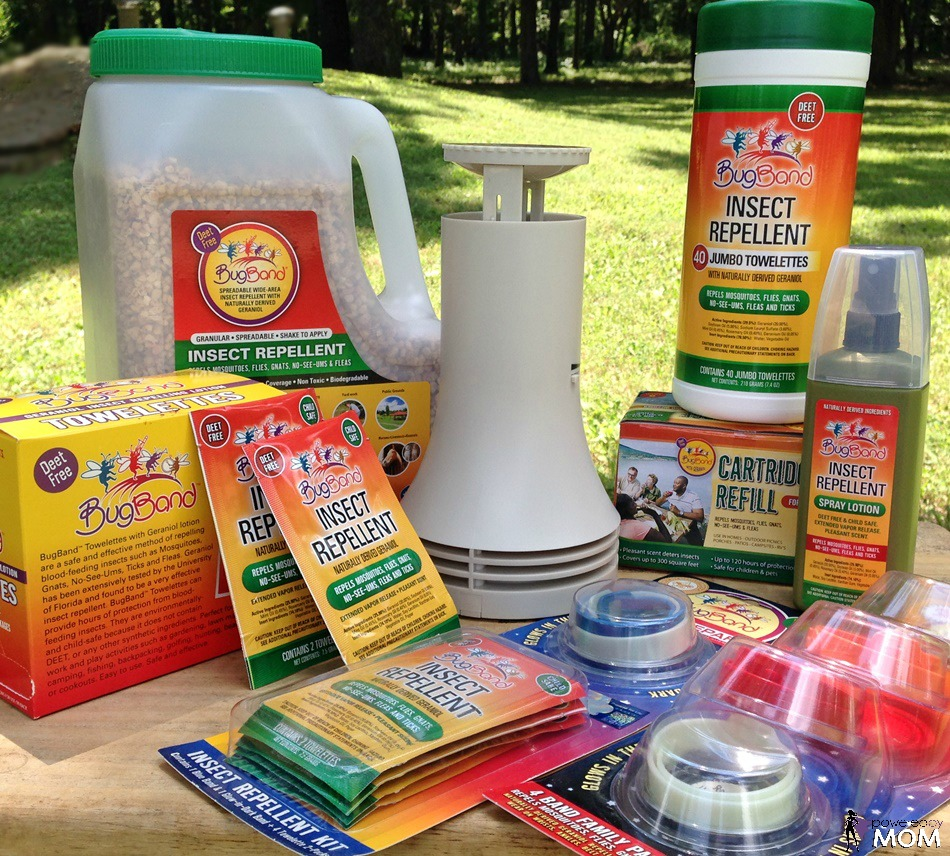 BugBand Naturally Derived Insect Repellent Products