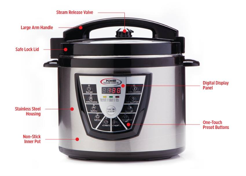 Summer Power Pressure Cooker XL